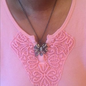 Jewelry - Ribbon bow Necklace